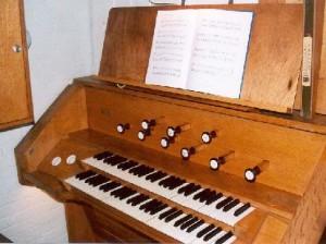 Speeltafel van het orgel